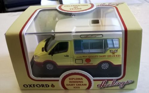 SP116 Oxford Diecast Special 1/76 Scale Hockings Ice Cream Mercedes